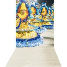 Fundo Fotográfico Cenário Carnaval Passistas 1,4m x 2,9m
