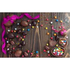 Fundo Fotográfico Newborn Cenário Chocolate 2,2x1,4m