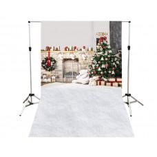 Suporte para Fundo Fotográfico Cenário Natal 1,4m x 2,2m