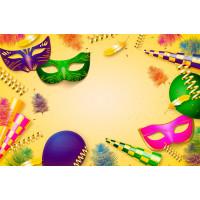 Fundo Fotográfico Ensaio Carnaval - 2,2 x 1,4m