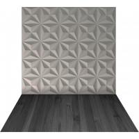 Fundo Fotográfico Newborn Placa3d Triângulos 1.4m x 2.2m