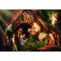 Painel De Parede Decoração De Natal Presépio 2,00m x 1,40m