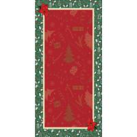 Toalha De Mesa Natalina Decoração De Natal 2,80m X 1,40m