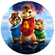 Capa Alvin e os Esquilos de 1,30m