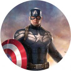 Capa Capitão América de 1,00m