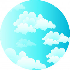 Capa Céu Azul de 1,00m