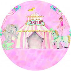 Capa Circo Rosa de 1,30m