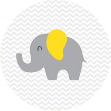 Capa Elefantinho Amarelo de 1,30m