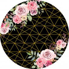 Capa Flores Rosa de 1,30m