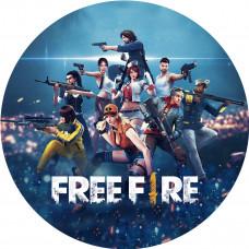 Capa Free Fire de 1,00m