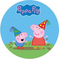Capa Peppa Pig de 1,30m