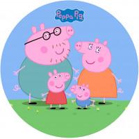 Capa Peppa Família Pig de 1,30m