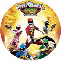 Capa Power Rangers de 1,30m