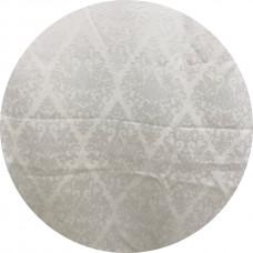 Capa Tecido Jacquard Branco de 1,00m