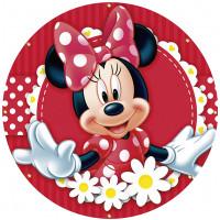 Capa Minnie Vermelha de 1,30m