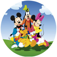 Capa Turma do Mickey de 1,30m