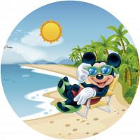 Capa Mickey Praia de 1,30m