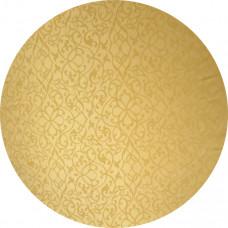 Capa Tecido Jacquard Dourado de 1,00m