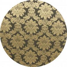 Capa Tecido Jacquard Dourado e Preto de 1,00m