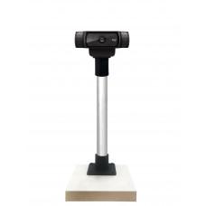 Suporte Universal Webcam Câmera Para Reuniões E Vídeo Aula