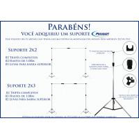 Manual Suporte 2x2 e 2x3  Base Articulada